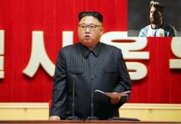 """Šiaurės Korėjos vado įsakymas: """"prikepti"""" krūvą korėjietiškų L. Messi"""