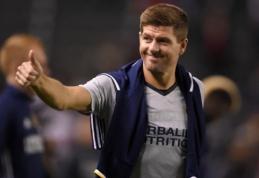 "S. Gerrardas gali tapti ""MK Dons"" treneriu"