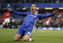 """""""Premier"""" lygos spalio mėnesio žaidėjas - E. Hazardas"""