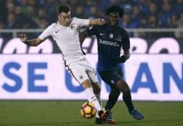 """""""Chelsea"""" nusitaikė į jaunąją """"Atalanta"""" klubo žvaigždę"""