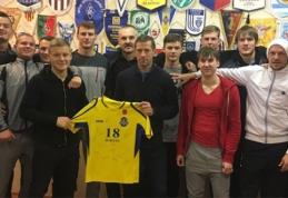 Legendinis pajūrio futbolininkas A.Jokšas baigė profesionalo karjerą