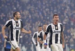 """Serie A: """"Juventus"""" nugalėjo """"Atalanta"""" (VIDEO)"""