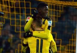 """""""Borussia"""" sutriuškino """"Gladbach"""", """"Leipzig"""" ir toliau skina pergales (VIDEO)"""