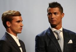 Atskleisti trys kandidatai į geriausio metų futbolininko apdovanojimą