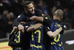 "Serie A: ""Lazio"" krito prieš ""Chievo"", ""Inter"" sutriuškino ""Pescara"" (VIDEO)"