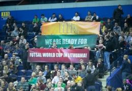 Europos salės futbolo atrankos starte - triuškinanti lietuvių pergalė (VIDEO)