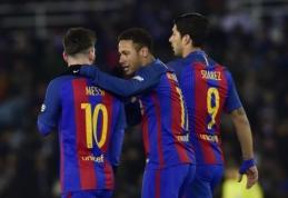 """Karaliaus taurėje - """"Barcelona"""" ir """"Atletico"""" klubų pergalės (VIDEO)"""