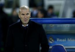 Z. Zidane'as: negalvojame apie treble