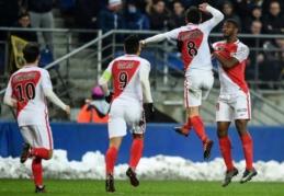 """Lygos taurėje """"Monaco"""" tik po baudinių palaužė antrojo diviziono klubą"""