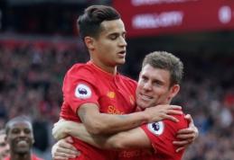 """P. Coutinho ir kiti traumas patyrę """"Liverpool"""" žaidėjai sparčiai sveiksta"""