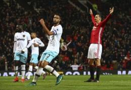 """""""Premier"""" lyga: """"Man Utd"""" bandys pratęsti pergalių seriją Londone (apžvalga)"""