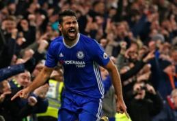 """D. Costa: vasarą buvau per žingsnį nuo to, kad palikčiau """"Chelsea"""""""