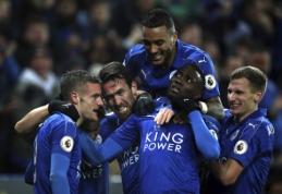 """Be C. Ranieri likęs """"Leicester"""" namuose nugalėjo """"Liverpool"""" (VIDEO)"""