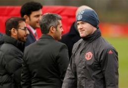 """W.Rooney viliojo ir """"Everton"""" komanda"""