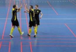 """Futsal A lygoje – triuškinamos """"Vyčio"""" ir """"Bekento"""" pergalės"""