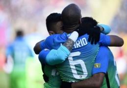"""""""Inter"""" bei """"Napoli"""" šventė pergales išvykoje, """"Roma"""" įveikė """"Torino"""", """"Milan"""" - """"Fiorentiną"""" (VIDEO)"""