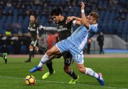 """Suso įvartis leido """"Milan"""" iškovoti tašką prieš """"Lazio"""" (VIDEO)"""