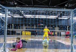 Futsal taurės antrajame etape – atkaklios dvikovos
