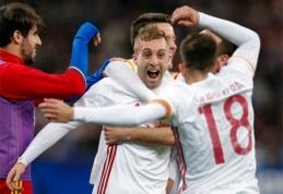 Draugiškose rungtynėse - ispanų ir italų pergalės, C. Ronaldo grįžimą į Madeirą apkartino pralaimėjimas (VIDEO)