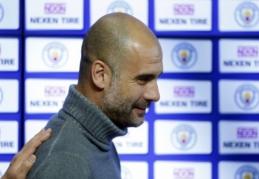 P. Guardiola: kitą sezoną būsime stipresni, ypač gynyboje