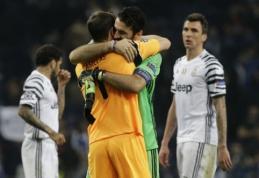 """Čempionų lyga: į ketvirtfinalio traukinį sieks įšokti """"Juventus"""" ir """"Sevilla"""" (apžvalga)"""