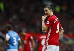 """""""Man Utd"""" neįveikė dešimtyje žaidusio """"Bournemouth"""", """"Leicester"""" iškovojo antrąją pergalę iš eilės (VIDEO)"""