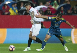 """""""Sevilla"""" ir """"Athletic"""" šventė pergales Ispanijos pirmenybėse (VIDEO)"""