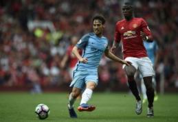 """J. Mourinho: """"Man City"""" yra favoritai būti stipriausiųjų ketverte, ne """"Man Utd"""""""