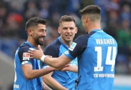 """""""Hoffenheim"""" ekipos herojus - prieš du sezonus ketvirtoje Vokietijos lygoje žaidęs saugas"""