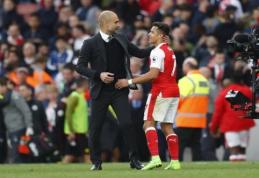 P. Guardiola išreiškė susidomėjimą A. Sanchezu