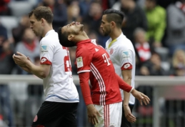 """Vokietijoje - dar vienos """"Bayern"""" lygiosios, """"Borussia"""" palaužė """"Gladbach"""" (VIDEO)"""