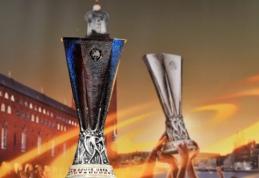 """Europos lygos pusfinalio burtai: """"Man Utd"""" susigrums su """"Celta"""", """"Ajax"""" laukia """"Lyon"""" ekipa"""