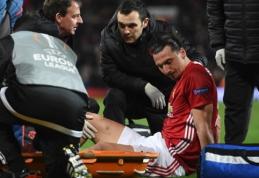Z. Ibrahimovičius ir M. Rojo patyrė sunkias traumas (VIDEO)