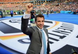 """A. Del Piero: """"Juventus"""" parodė, kad yra sutverti laimėti Čempionų lygą"""