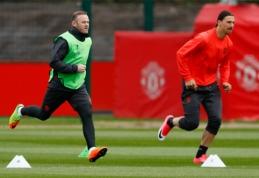 """W.Rooney gali sugrįžti į rikiuotę rungtynėms prieš """"Anderlecht"""""""