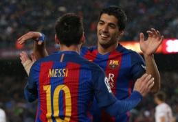 """""""Barcelona"""" namuose neturėjo sunkumų su """"Sevilla"""", """"Real"""" be lyderių įveikė """"Leganes"""" (VIDEO)"""