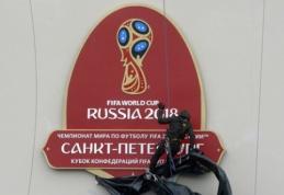 Skandalas Rusijoje: pasaulio čempionato stadioną statė Šiaurės Korėjos vergai?