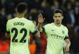 """""""Man City"""" per vieną dieną keturiems futbolininkams tarė sudie"""