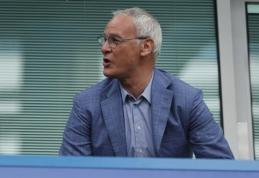 C. Ranieri pasiruošęs sugrįžti į trenerio kėdę