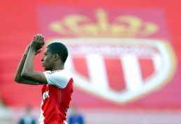 "K. Mbappe: man pasisekė, kad esu ""Monaco"" klube"