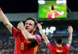 Ispanus į U-21 čempionato finalą atvedė nuostabus S. Niguezo hat-trickas (VIDEO)