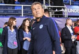 Slovakijos U-21 treneris apkaltino vokiečius ir italus nešvariais žaidimais