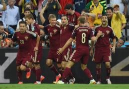 Rusijos rinktinė kaltinama vartojusi dopingą 2014 metų pasaulio čempionate