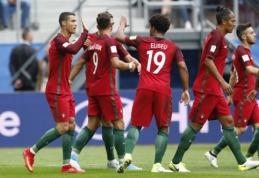 Portugalija be vargo nugalėjo Naująją Zelandiją ir žengė į pusfinalį (FOTO, VIDEO)