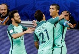 C. Ronaldo įvartis rungtynių pradžioje nulėmė pergalę prieš rusus (VIDEO, FOTO)
