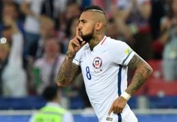Rungtynių pabaigoje Čilė palaužė Kamerūną (FOTO, VIDEO)