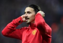 """Oficialu: """"Man Utd"""" nepratęs sutarties su Z. Ibrahimovičiumi"""
