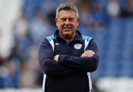 """C. Shakespeare'as tapo ilgalaikiu """"Leicester City"""" treneriu"""