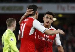 "A. Wengeras: Sanchezas ir Ozilas liks ""Arsenal"" gretose"
