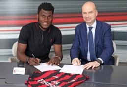 """Oficialu: """"Milan"""" nurungė """"Chelsea"""" kovoje dėl F. Kessie įsigijimo"""